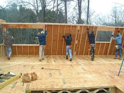 Ii autoconstruction maison ossature bois grenoble 38 for Se construire une maison